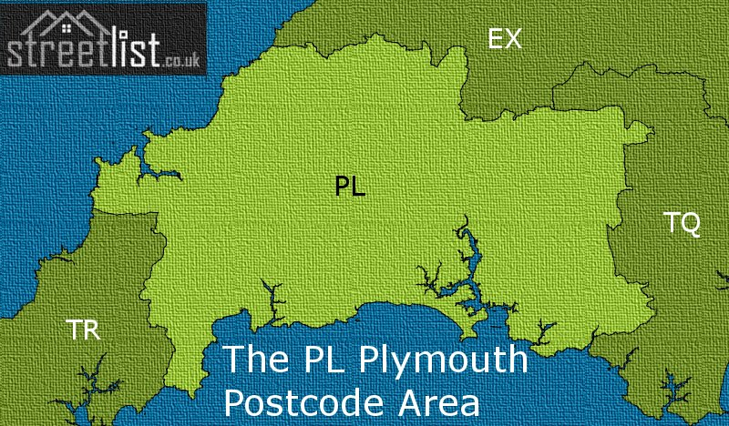 The PL Plymouth Postcode Area